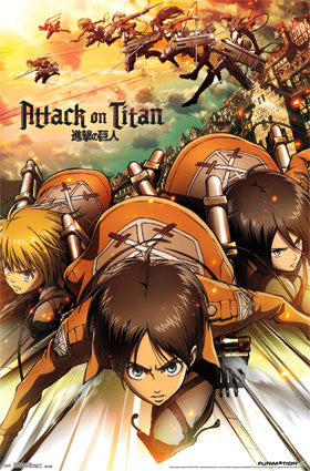 Attack On Titan - Attack Poster 22x34 RP13801 UPC882663038015