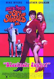 Austin Powers the Spy Who Shagged Me Movie Poster 27x40 Used