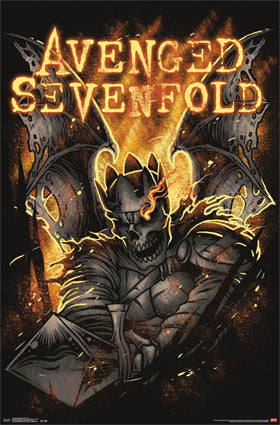 Avenged Sevenfold - Fire RP13542 Band Poster 22x34