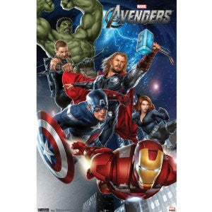 Avengers – Group Movie Poster RP1486  22x34 UPC017681014868
