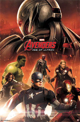 Avengers 2 - Avengers Movie Poster RP13923 22x34 UPC882663039234 Marvel