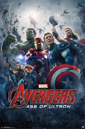 Avengers 2 - One Sheet Movie Poster RP13925 UPC882663039258 22x34