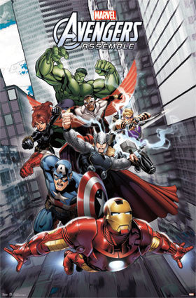 Avengers Assemble RP5894 Movie Poster 22x34