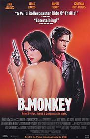 B. Monkey Movie Poster 27x40 Used