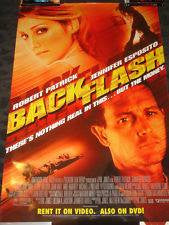 Backflash Movie Poster 27x40 Used
