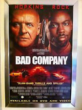 Bad Company Movie Poster 27x40 Used Chris Rock, Anthony Hopkins