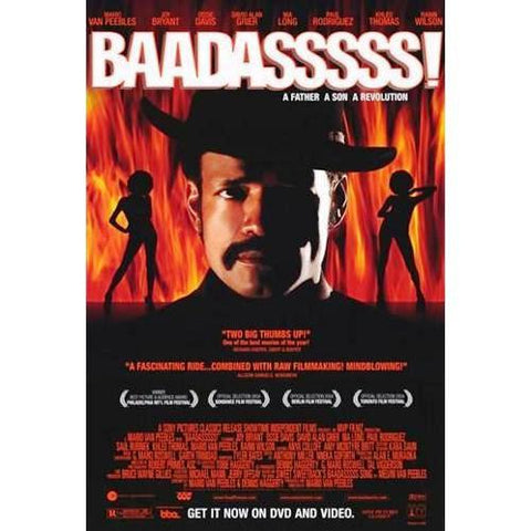 Badasssss! A Father A Son A Revolution Movie Poster 27x40  Used
