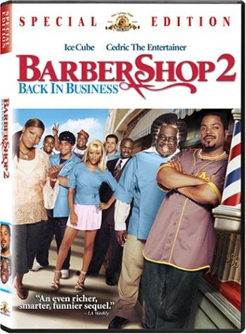 Barbershop 2: Back in Business Movie DVD 2004 Barber Shop UPC027616905147 Ice Cube