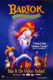 Bartok the Magnificent Movie Poster 27x40   Used