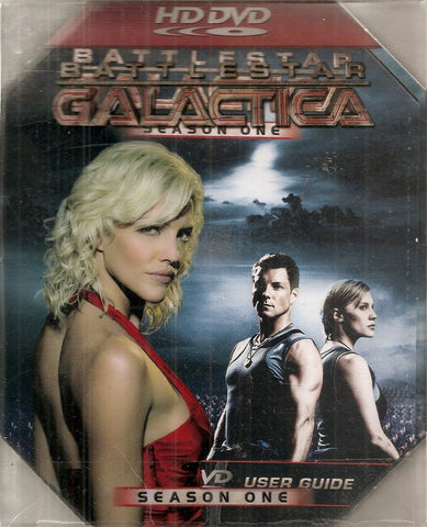 Battlestar Galactica - Season 1 (HD-DVD, 2007, 6-Disc Set) UPC: 025195009607 TV Show