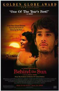 Behind The Sun Movie Poster 27x40  Used