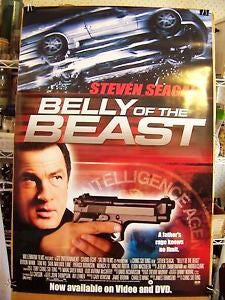 Belly of the Beast Movie Poster 27x40 Used Steven Seagal
