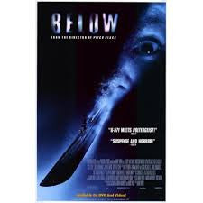Below Movie Poster 27X40	 Used