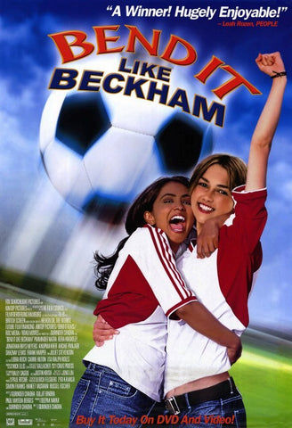 Bend It Like Beckham Movie Poster 27x40   Used