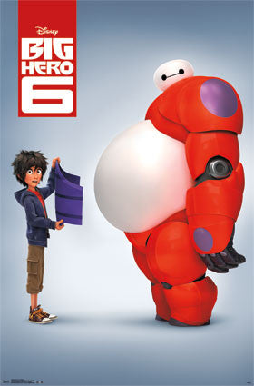 Big Hero 6 - Baymax Movie Poster 22x34 RP13728 UPC882663037285 Disney