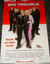 Big Trouble Movie Poster 27x40 Used Tim Allen