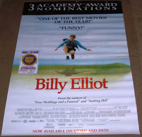 Billy Elliot Movie Poster 27x40 MCP0009 Used Julie Walters