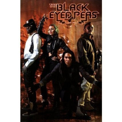 Black Eyed Peas – Boom Band Poster RP5229  UPC017681052297 22x34