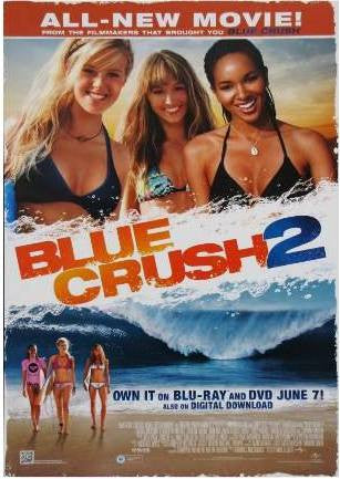 Blue Crush 2 Movie Poster 27x40	  Used