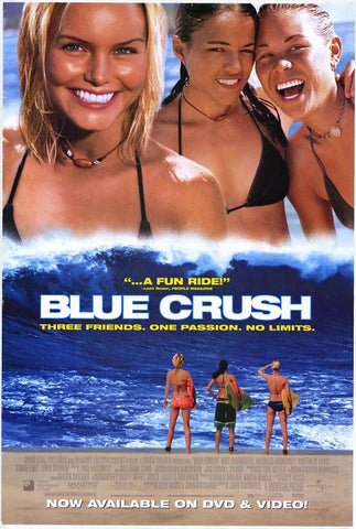 Blue Crush Movie Poster 27x40  Used