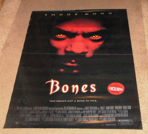 Bones Movie Poster 27x40  Used Snoop Dogg