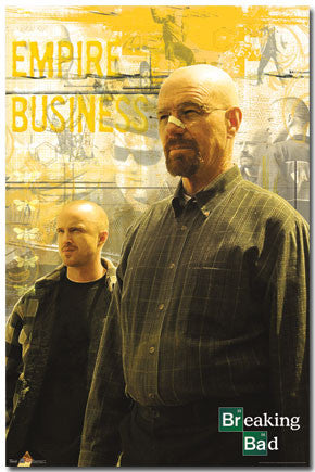 Breaking Bad – Duo TV Show Poster 22x34 RP6063 	UPC017681060636