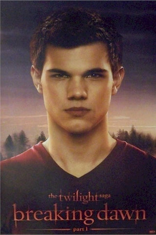 Breaking Dawn – Jacob	Part 1 Movie Poster RP0439 22x34 Twilight Saga