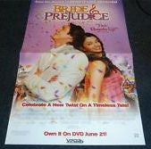 Bride and Prejudice Movie Poster 27x40  Used