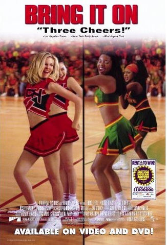 Bring It on 2000 Movie Poster 27x40 Used