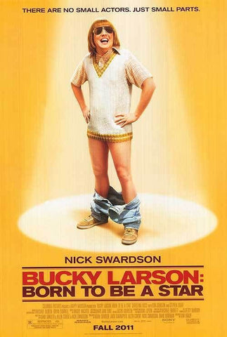 Bucky Larson: Born To Be A Star Movie Poster 27x40 Double Sided Used Nick Swardson