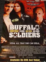 Buffalo Soldiers 2001 Movie Poster 27X40 Used Ed Harris, Anna Paquin, Joaquin Pheonix