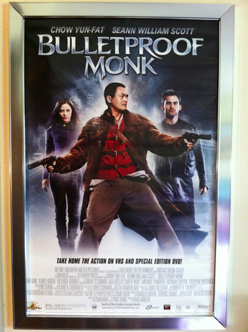 Bulletproof Monk Movie Poster 27x40 Used Chow Yun-Fat, Seann William Scott
