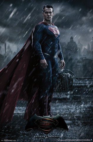 BvS - Superman Wall Poster 22x34 Rp14611 UPC882663046119 Batman Vs Superman DC Comics