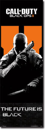 CODBOII – Door Game Poster 21x62 RP5801  UPC017681058015 Call of Duty Black Ops 2 COD