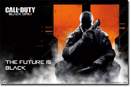 CODBOII - Future Game Poster 22x34 RP5837  UPC017681058374 Call of Duty Black Ops 2 COD