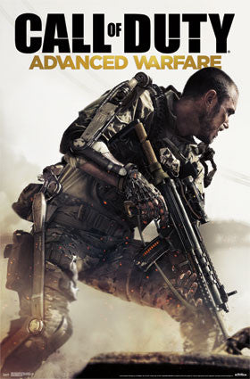 Call of Duty Advanced - Warfare - Key Art Game Poster 22x34 RP13600 UPC882663036004 COD