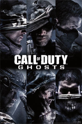 COD Ghosts – Team Game Poster 22x34 RP13032   UPC882663030323 Call of Duty