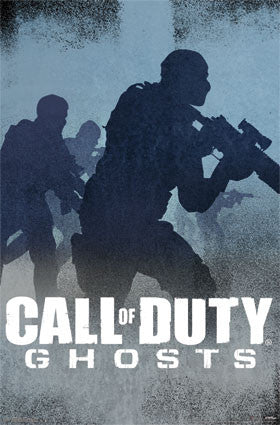 COD Ghosts – Blue Game Poster 22x34 RP13035  UPC882663030354 Call of Duty