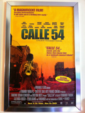 Calle 54 2000 Movie Poster 27x40 Used