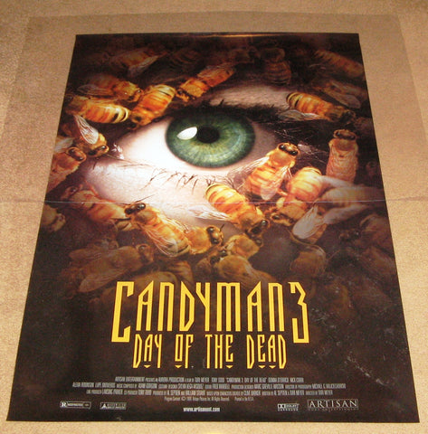 Candyman 3 Day of the Dead Movie Poster 27x40   Used