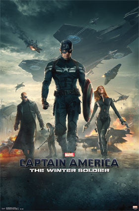 Captain America 2 - One Sheet Movie Poster 22x34 RP2213 Marvel
