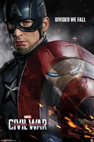 Captain America 3 - One Sheet Movie Poster 22x34 RP14071 UPC882663040711 Marvel