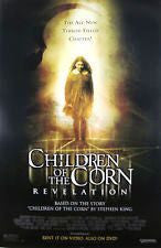 Children of the Corn Revelation Movie Poster 27x40 Used Stephen King