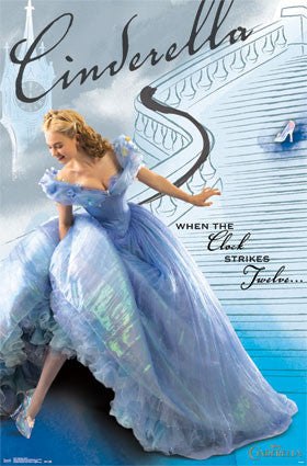 Cinderella - Stairs Movie Poster 22x34 RP13737 UPC882663037377 Disney