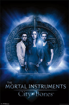 City of Bones – Glow RP6455 Movie Poster 22x34 UPC017681064559 The Mortal Instruments