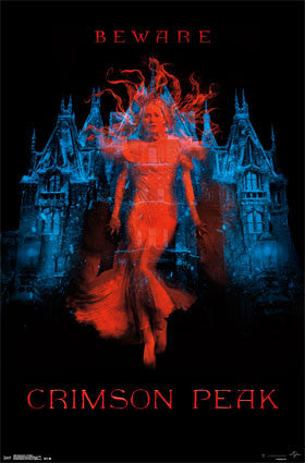Crimson Peak - One Sheet Movie Poster RP13946 UPC882663039463 22x34
