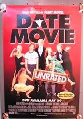 Date Movie Unrated Movie Poster 27x40 Used Fred Willard, Worthie Meacham, Jennifer Coolidge, Josh Meyers, Nick Steele, Eddie Griffin, Carmen Electra, Mark Chadwick, Aldo Gonzalez, Matt Austin, Gian Franco Tordi