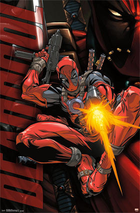 Deadpool - Jump Movie Poster 22x34 RP13807 TV Show Marvel UPC882663038077