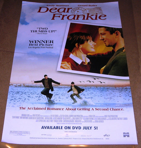 Dear Frankie 2004 Movie Poster 27x40 Used Emily Mortimer, Gerard Butler