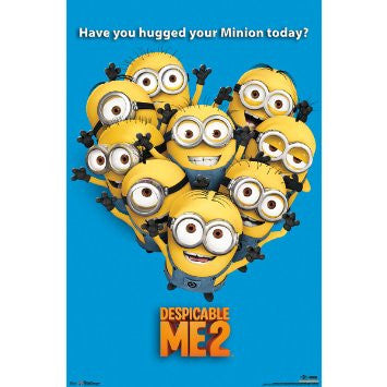 Despicable Me 2 – Minion Movie Poster RP5904 UPC017681059043